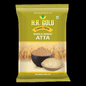 HR Gold Whole Wheat Atta - 5Kg