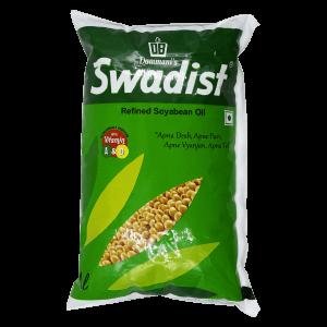 Swadist Soya Oil Pouch 1L
