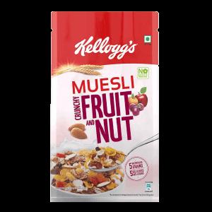 Kelloggs Fruit And Nut Muesli 750 g