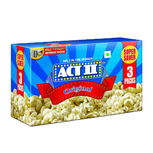 ACT II Microwave Popcorn Butter, 99g