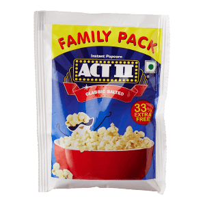 ACT II Classic Salted Instant Popcorn