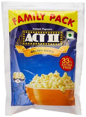 ACT II Golden Sizzle Instant Popcorn