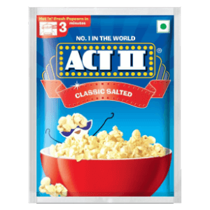 ACT II Salted Instant Popcorn, 40g