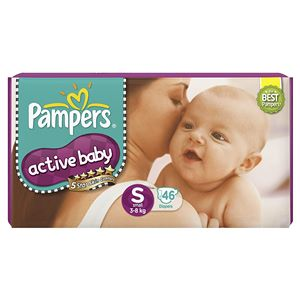 Pampers Active Baby Small Diaper 46 N
