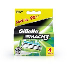 Gillette Mach 3 Cartridge 4 N