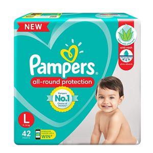 Pampers Baby Dry Large Pants 42 N