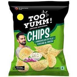 Too Yumm Cream & Onion Chips