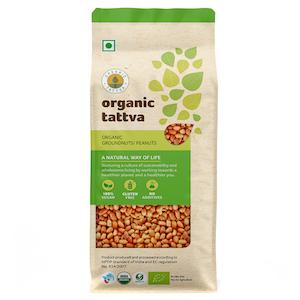 Organic Tattva Peanuts 500 g