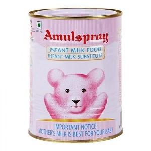 Amul Spray Baby Milk Food Tin, 500 g