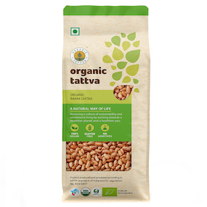 Organic Tattva Rajma Chitra 500 g