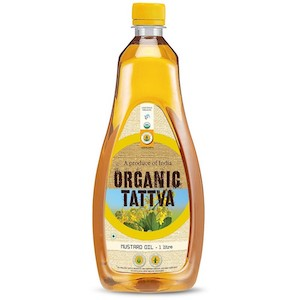 Organic Tattva Mustard Oil 1 L