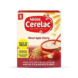 Cerelac Stage 2 Wheat Apple Cherry Baby Food 300 g