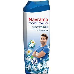Navratna Mint Fresh Talcum Powder 100 g