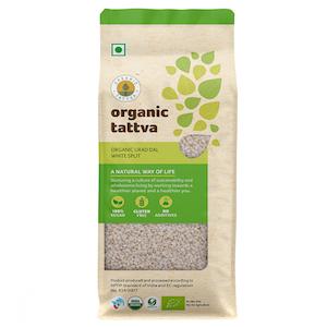 Organic Tattva White Split Urad 500 g
