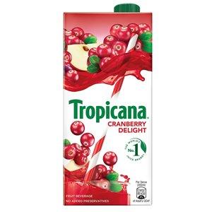 Tropicana Cran Berry Juice 1 L