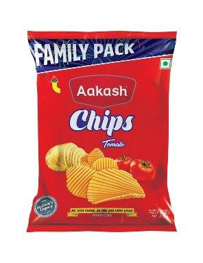 Aakash Chips Large Tomato, 60 g