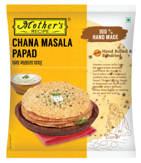Mother's Recipe Chana Masala Papad 200 g