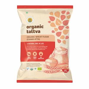 Organic Tattva Wheat Flour Whole, 5 kg