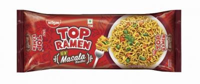 Top Ramen Noodles Masala, 70 g