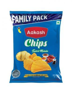 Aakash Chips Large Masala, 1 N