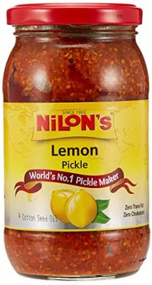 Nilon's Std Lemon Pickle 400 Gm