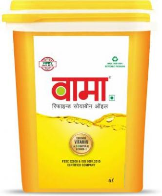 Vama Refined Soyabeen Oil Jar 5 L