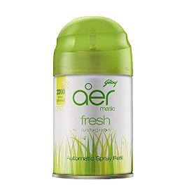 Aer Car Freshener Lush Green, Refill, 225 ml