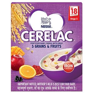 Cerelac Stage 5 Wheat & Fruits Baby Food 300 g