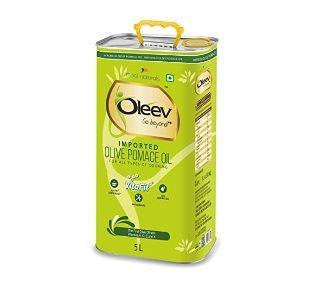 Oleev Pomace Olive Oil Tin, 5 L