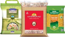 Rice, Atta & Dals