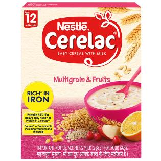 Cerelac Stage 4 Mixed Fruit Baby Food 300 g