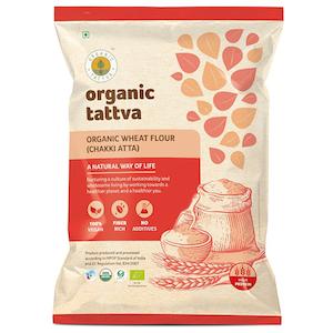 Organic Tattva Whole Wheat Atta 10 kg