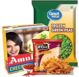 Dairy , Frozen & Fries