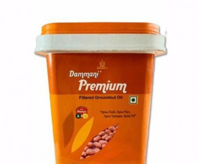 Dammani Groundnut Oil 15 L (Bucket)