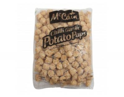 McCain Garlic Potato Pops 1.5 kg