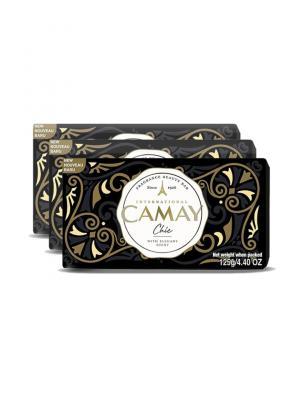 Camay Chic Fragrance Soap 3 N (125 g Each)