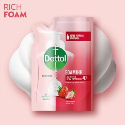 Dettol Foaming Handwash Strawberry Refill 200ml