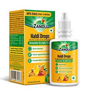 Zandu Haldi Drops 32 ml