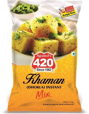 420 Khaman ( Dhokla) Instant Mix 500Gm