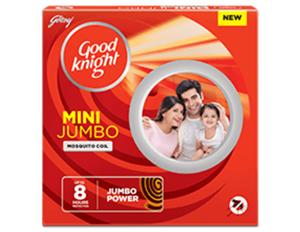 Good Knight Mini Jumbo 8 Hours coil 10 N