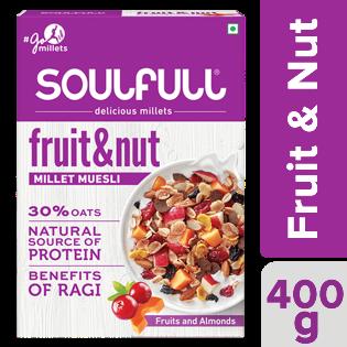 Soulfull Fruit & Nut Millet Muesli 400 g