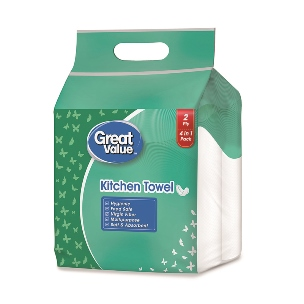 Great Value Kitchen Towel 4 N
