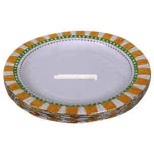 Right Buy Premium Paper Plate Food Grade, 25N (17 cm Each)