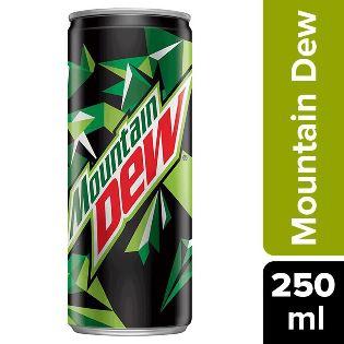 Mountain Dew Can 250 ml