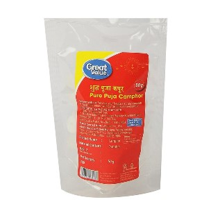 Great Value Pure Puja Camphor 50 g