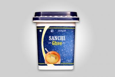 Sanchi Ghee Jar, 5 L