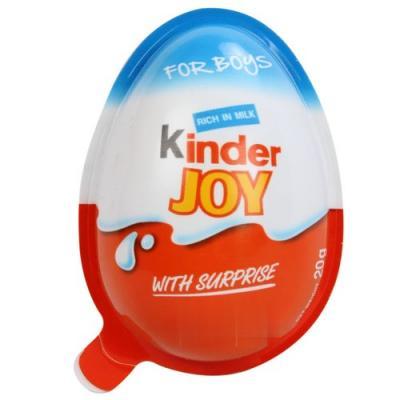 Kinder Joy Chocolate For Boys (40Rs. Each)