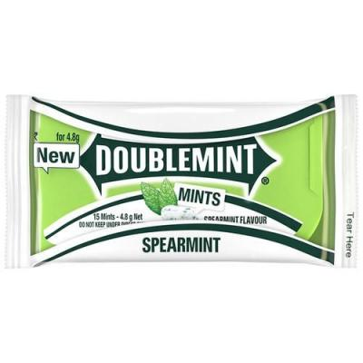 DoubleMint  Chewy Mint Pack 3.8 gm