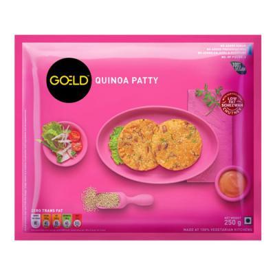 Goeld Quinoa Patty 250 g