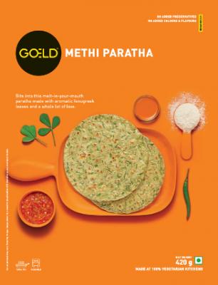 Goeld Methi Paratha 400 g